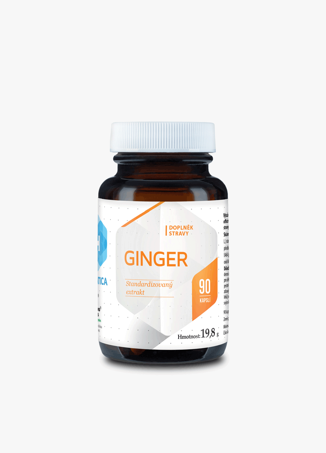 Ginger 160mg 90cps Hepatica.cz