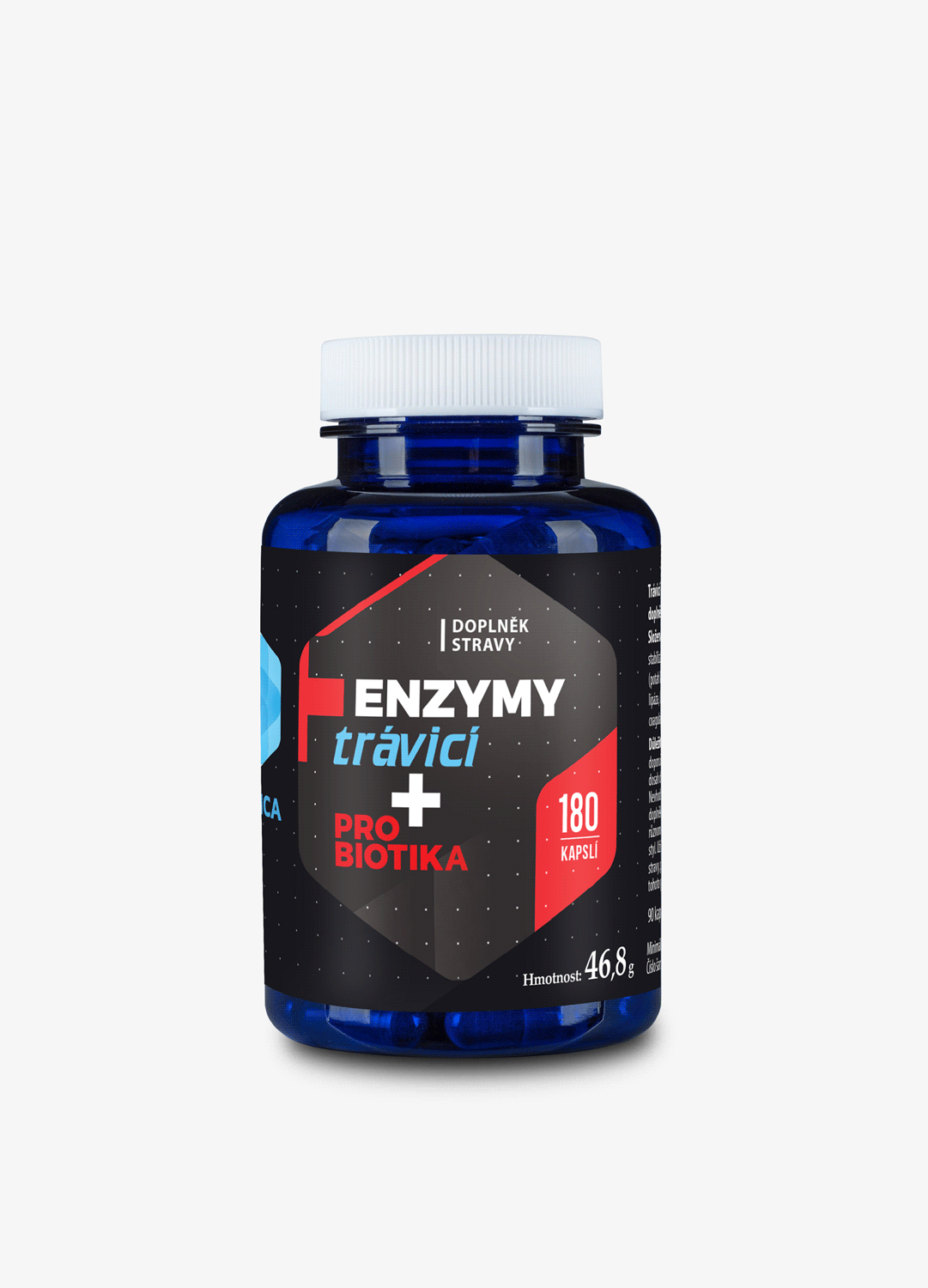 Travici Enzymy 150 mg 180 cps s probitiky