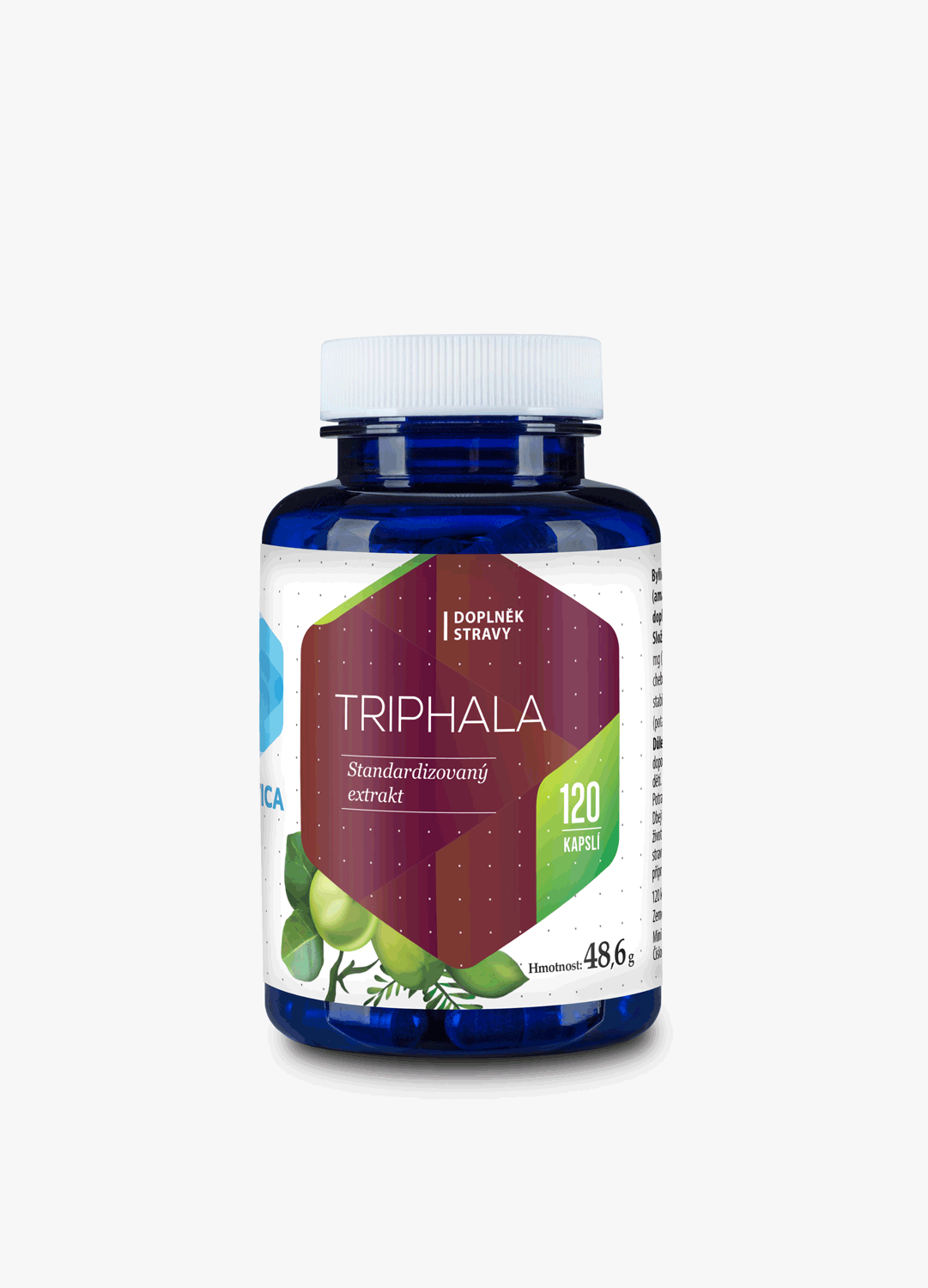 Triphala 310mg 120cps extract